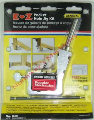 Harbor Freight Pocket Hole Jig Kit